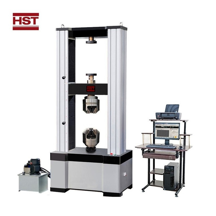 Computer Control Electronic Universal Testing Machine With Hydraulic Clamps