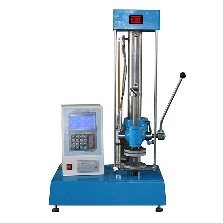 Manual Spring Extension and Compression Testing Machine