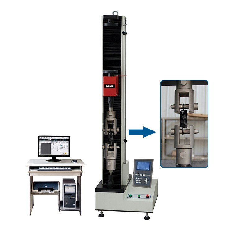 100-5KN Single Colum Automatic Spring Tensile and Compression Testing Machine